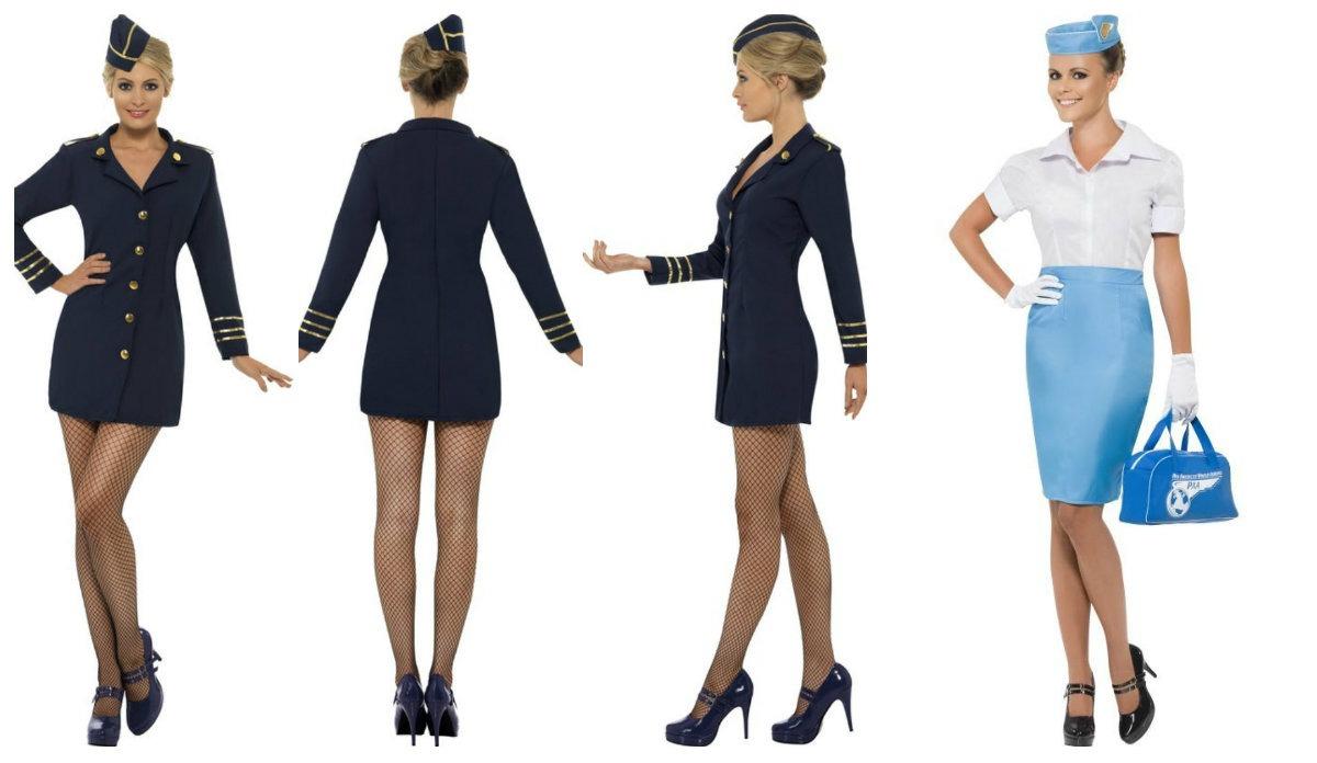 udklædning stewardesse