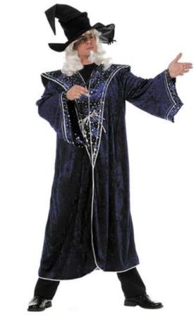 troldmand kostume til voksne