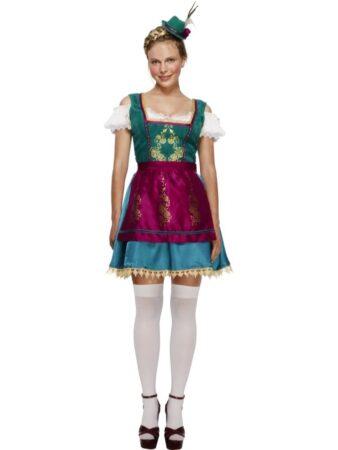 fever tyroler kjole oktoberfest udklædning kvinder