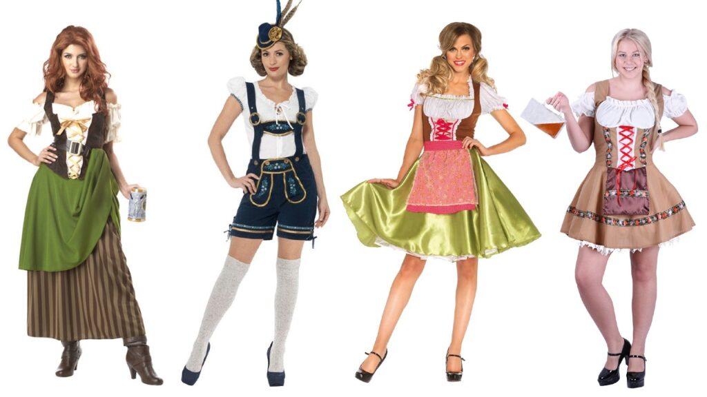 oktober fest beer garden kostume til kvinder