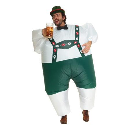 oppusteligt oktoberfest kostume oppusteligt ølfest kostume