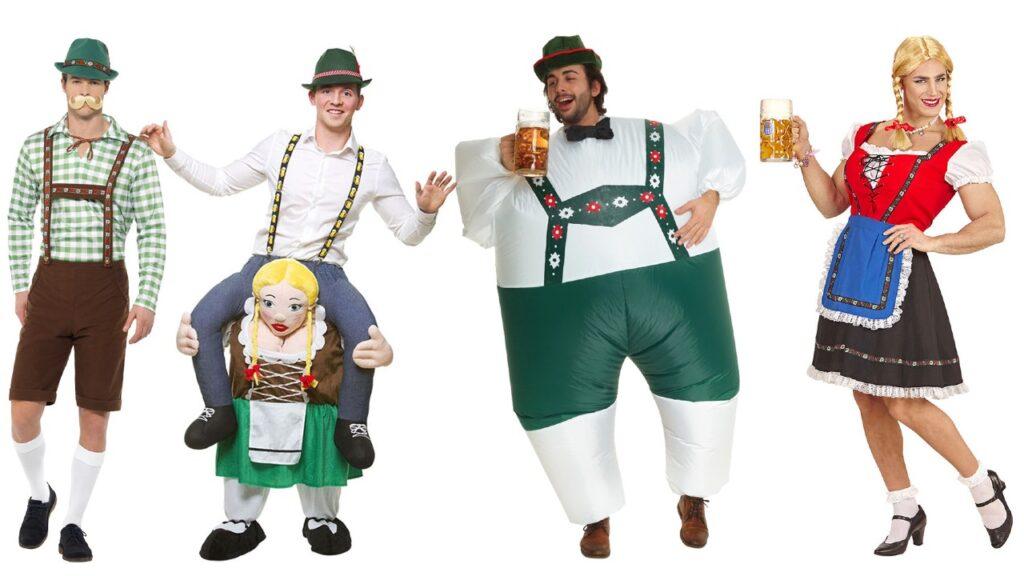 sjovt ølfest kostume anderledes oktoberfest udklædning