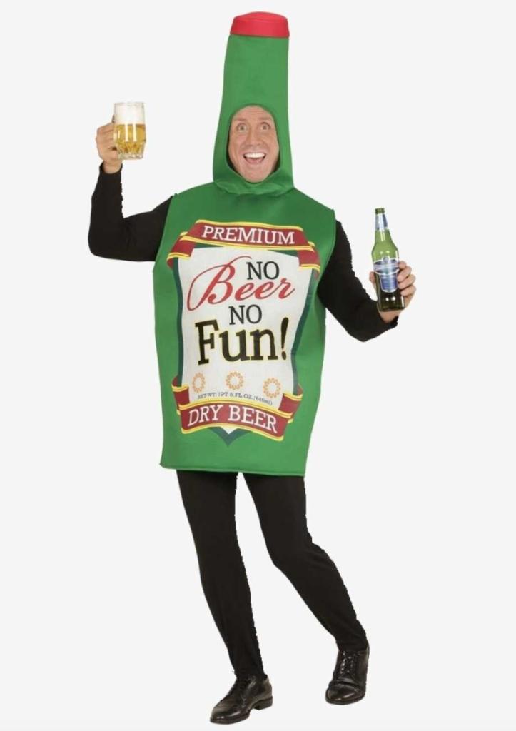 l flaske kostume drikke kostume til voksne 723x1024 - Flaskekjoler og andre sjove drikkekostumer