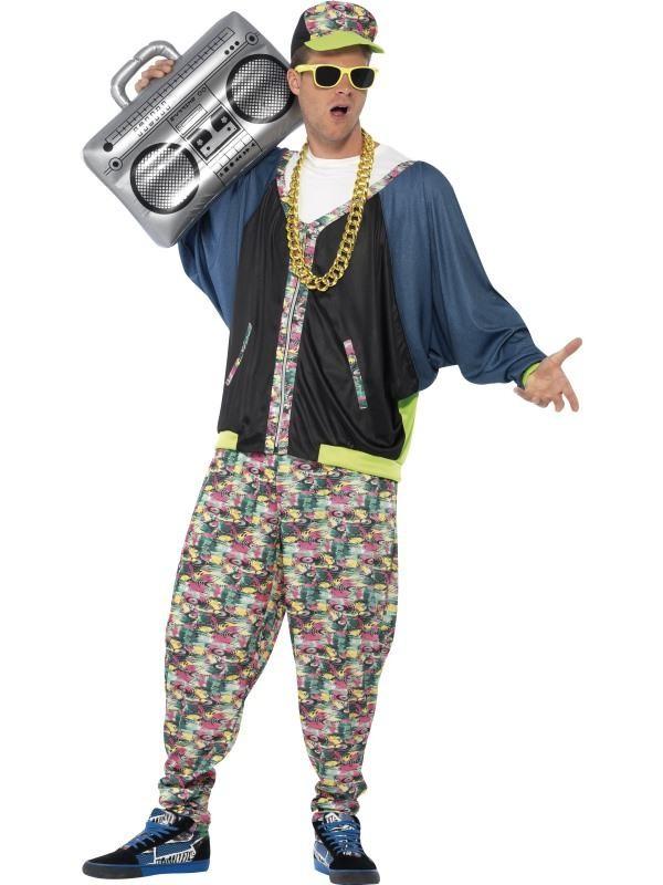 90er fest kostume 90er tøj 90er kostume 90er udklædning 90er temafest hip hopper kostume hiphop bukser udklædning 90er fest