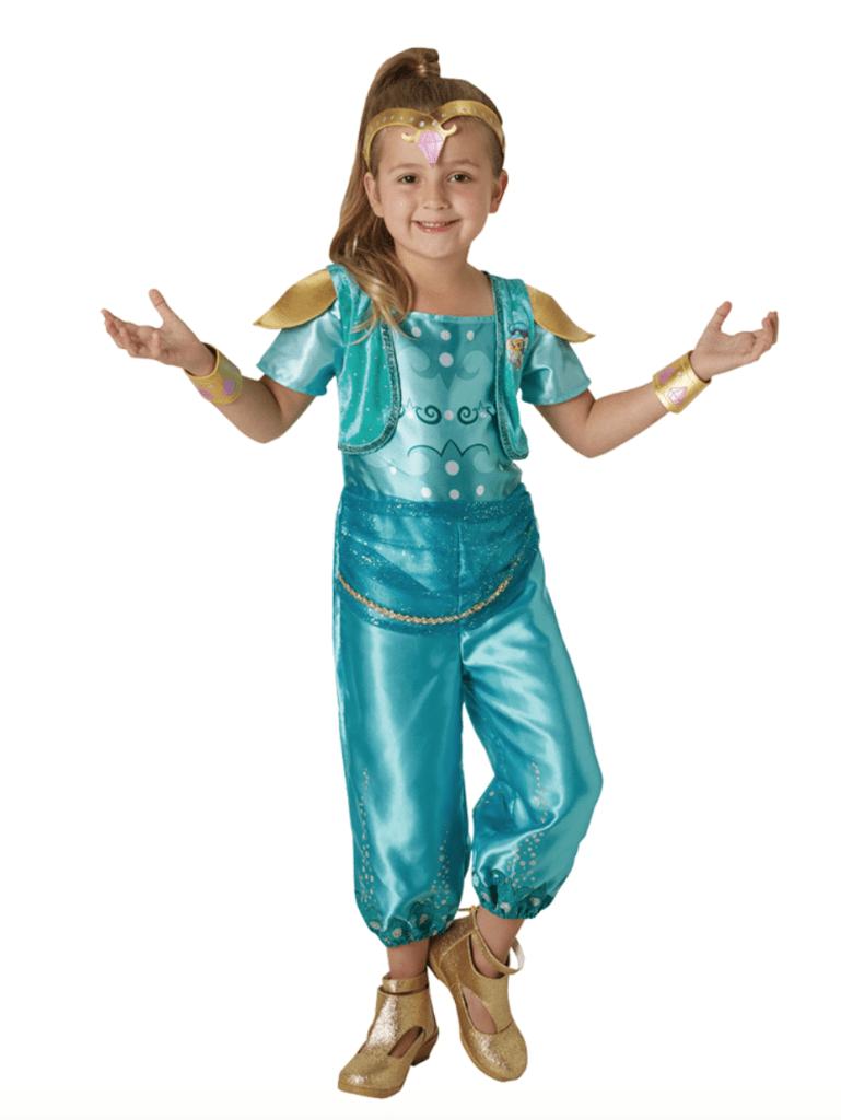 Skærmbillede 2018 12 13 kl. 22.21.28 769x1024 - Shimmer & Shine kostume til børn