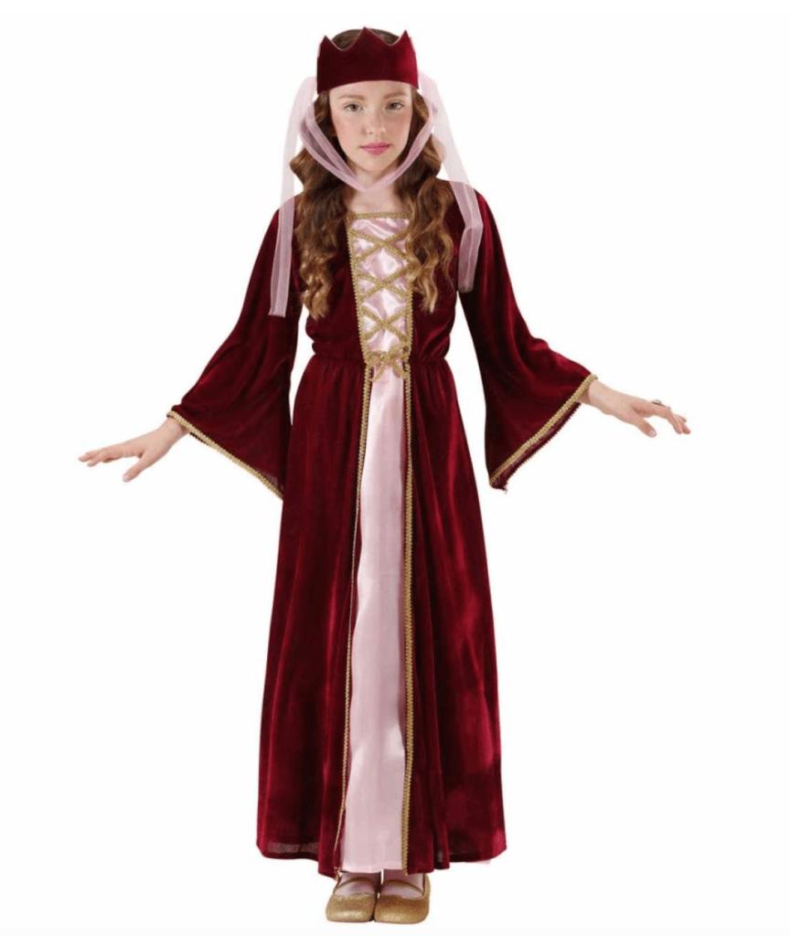 Skærmbillede 2018 12 16 kl. 20.43.26 864x1024 - Dronning kostume til børn
