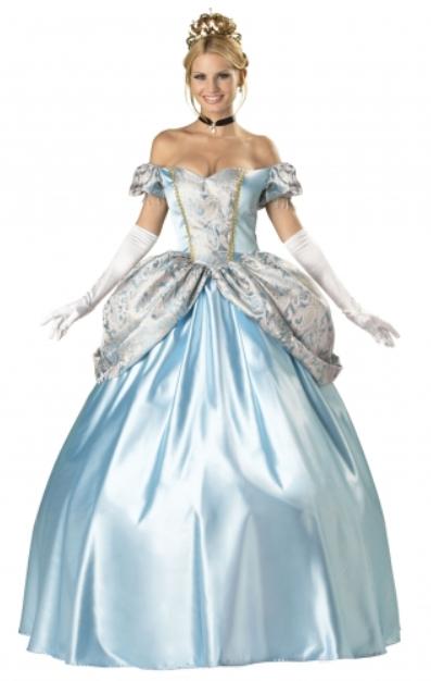 askepot duluxe kostume balkjole luksus askepot kjole