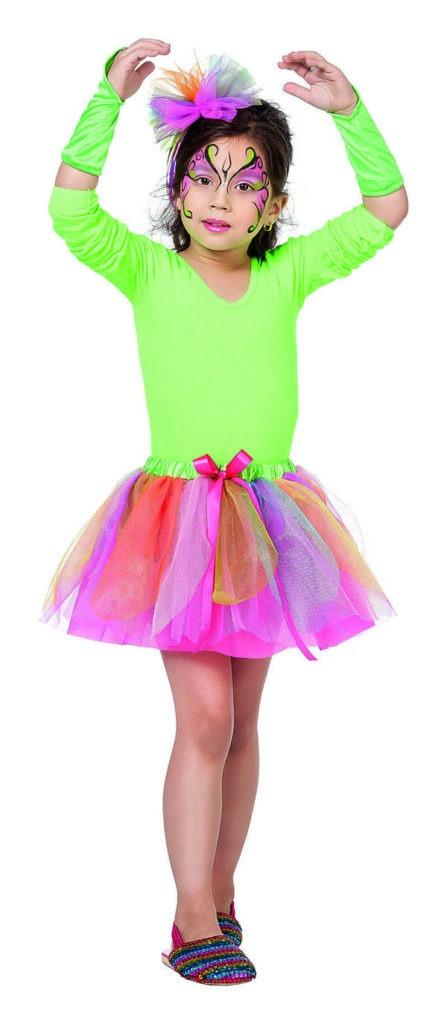 ballerina kostume til børn lyserød ballerina børnekostume ballerinaskørt udklædning for børn fastelavnskostume udklædning for sjov grøn balletkostume