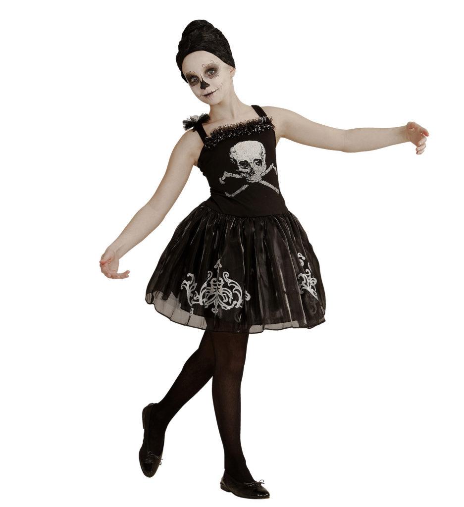 ballerina kostume til børn lyserød ballerina børnekostume ballerinaskørt udklædning for børn fastelavnskostume udklædning for sjov halloween ballerina kostume