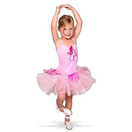 ballerina kostume til børn lyserød ballerina børnekostume ballerinaskørt udklædning for børn fastelavnskostume udklædning for sjov