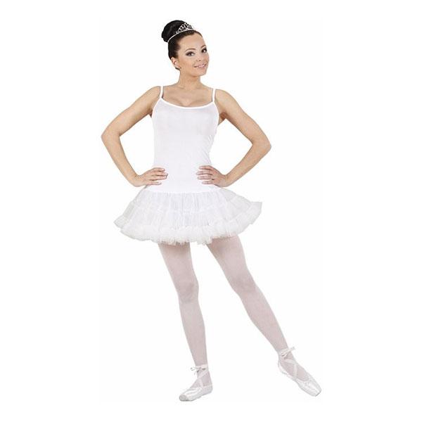 ballerina kostume til voksne hvid ballerina kjole til voksne baletdanserinde kostume til voksne kostume til karneval fastelavnskostume