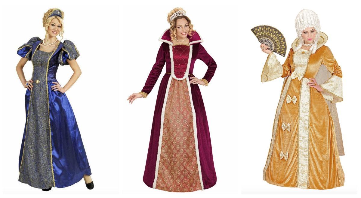 5f6dbc649b09 Dronning kostume til voksne - KostumeUniverset