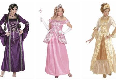Prinsesse kostume til voksne