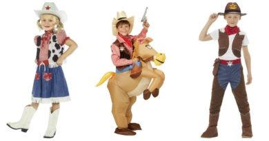 cowboy kostume til børn cowgirl kostume til piger rodeo kostume til børn sherif kostume til børn fastelavnskostumer til børn cowboy børnekostume billigt kostume