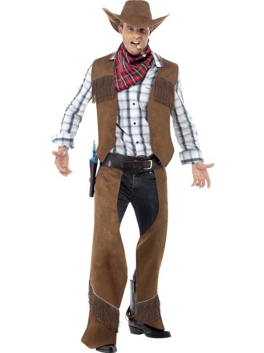 cowboy kostume til voksne komplet cowboy udklædning sherif forklædning rodeo cowboy kostume det vilde vesten kostume amerikansk kostume