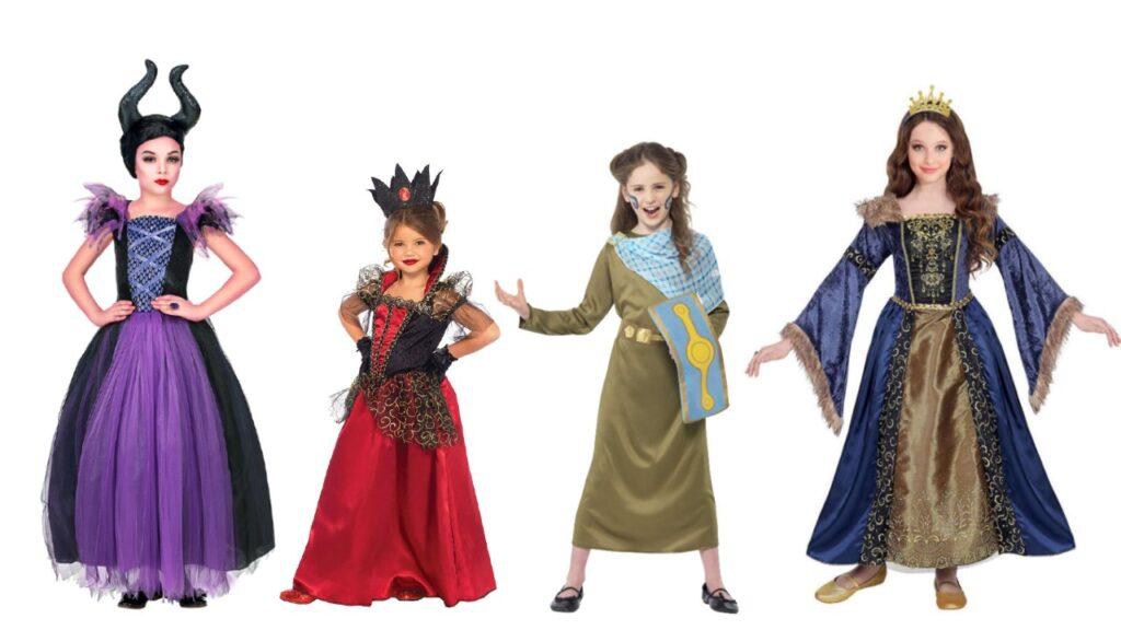 dronning kostume til piger dronning børnekostume dronning kostume til fastelavn dronning udklædning fastelavn barn