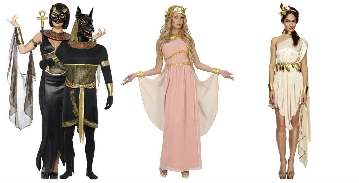 0d6870607424 gudinde kostume til voksne gudinde kostume græsk kostume til kvinder  oldtidskostume græsk temafest gudinde udklædning gudinde