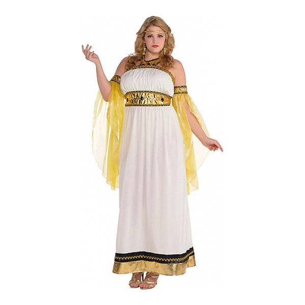 7152d113d262 gudinde kostume til voksne gudinde plussize stor størrelse kostume græsk  kostume til kvinder oldtidskostume græsk temafest