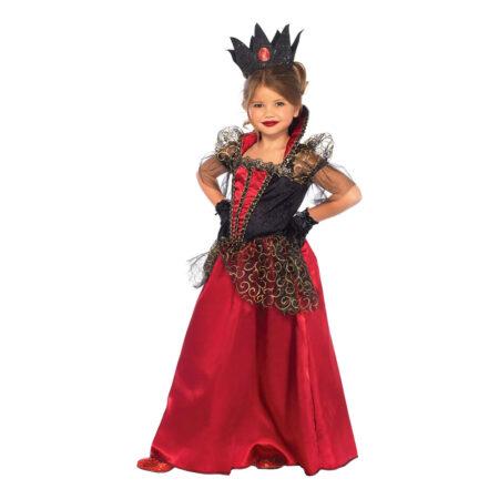 halloween dronning kostume til barn halloween droning børnekostume