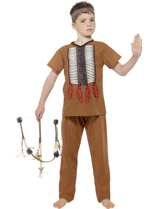 14a2bc280d1a indianer kostume til børn indianer kostume til drenge indianerhøvding kostume  drenge indianer børnekostume fastelavnskostume