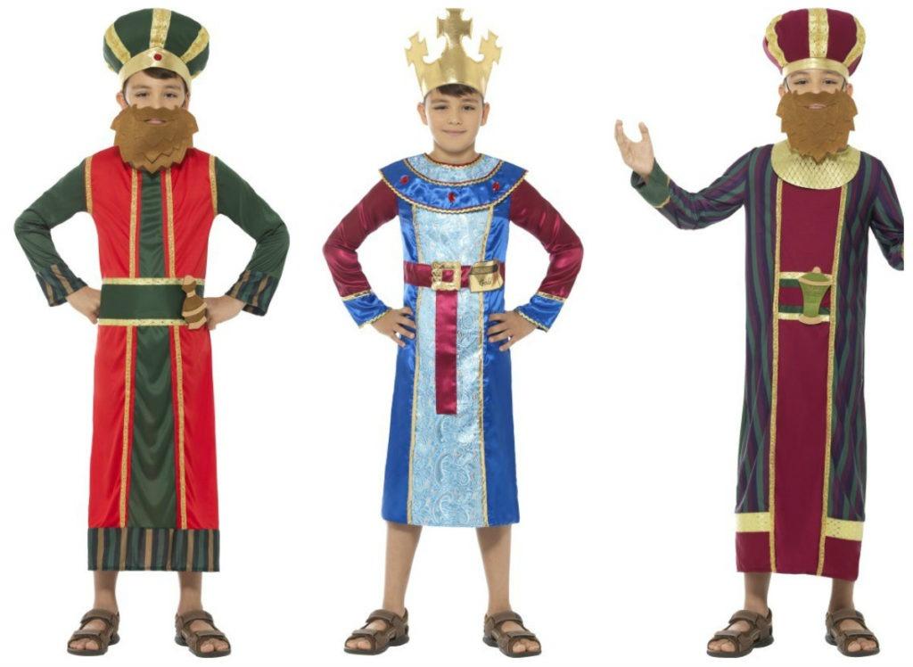 konge kostume til børn de tre vise mænd kostume kong balthazar kostume kong melchior kostume til børn
