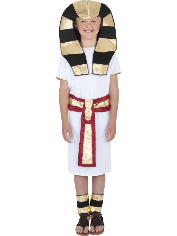 konge kostume til børn lille farao kostume egyptisk konge børnekostume fastelavnskostume egypten
