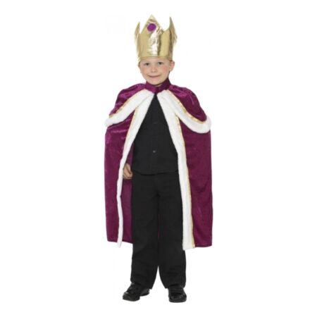 kongekappe til barn kongekappe børnekostume kattekonge kostume