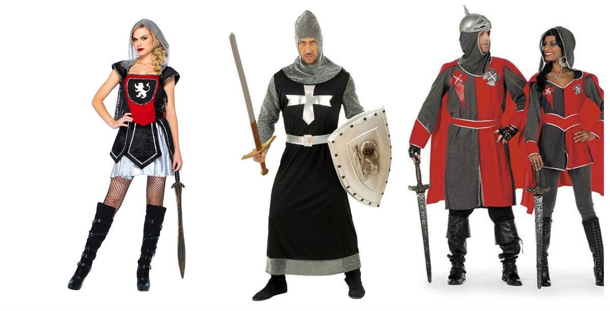 ridder kostume til voksne
