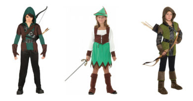 robin hood kostume til børn robin hood kostume til piger robin hood udklædning robin hood børnekostume fastelavnskostumer til børn superhelte kostume 390x205 - Robin Hood kostume til børn