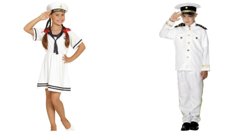 sømand kostume til børn og baby matros kostume kaptajn børnekostume matros kostume til baby 800x445 - Sømand kostume til børn og baby