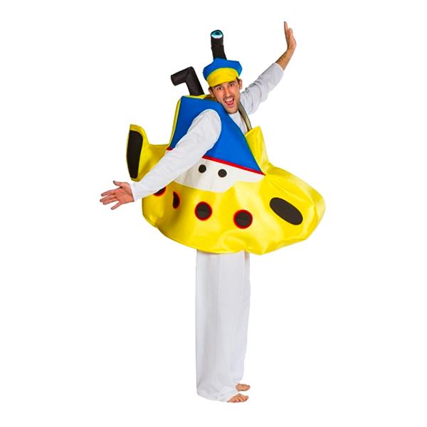ubåd kostume til voksne submarine kostume yellow submarine kostume gul ubåd kostume oppustelig ubåd kostume