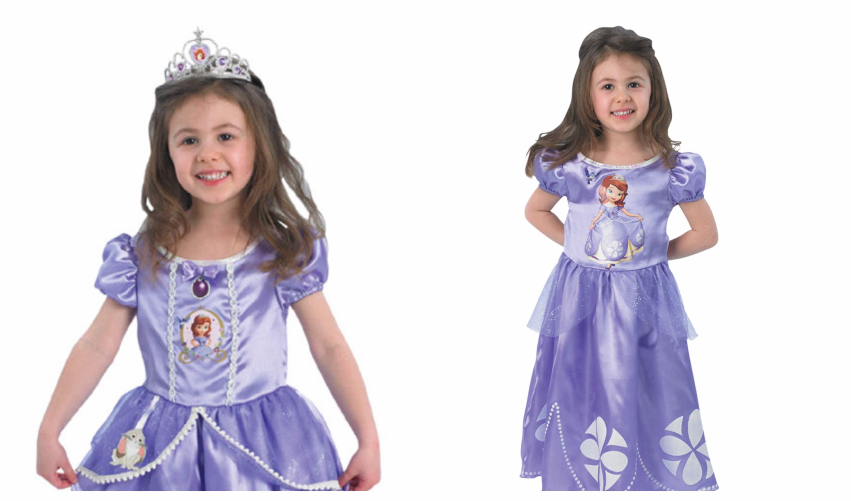 dad1b8d11990 Sofia den første kostume til børn - KostumeUniverset