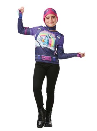 Fortnite Brite Bomber børnekostume 335x450 - Fortnite kostume til børn