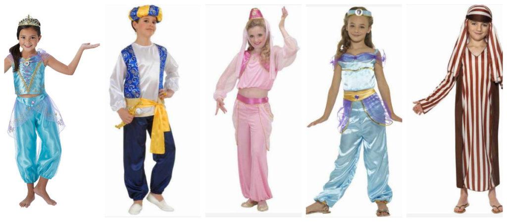 arabisk kostume til voksne 1001 nats kostume arabisk udklædning prinsesse jasmin kostume til børn kostume sheik kostume til børn
