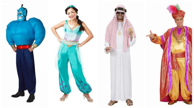 arabisk kostume til voksne 1001 nats kostume arabisk udklædning prinsesse jasmin kostume til voksne genie kostume til voksne beduin kostume sultan kostume