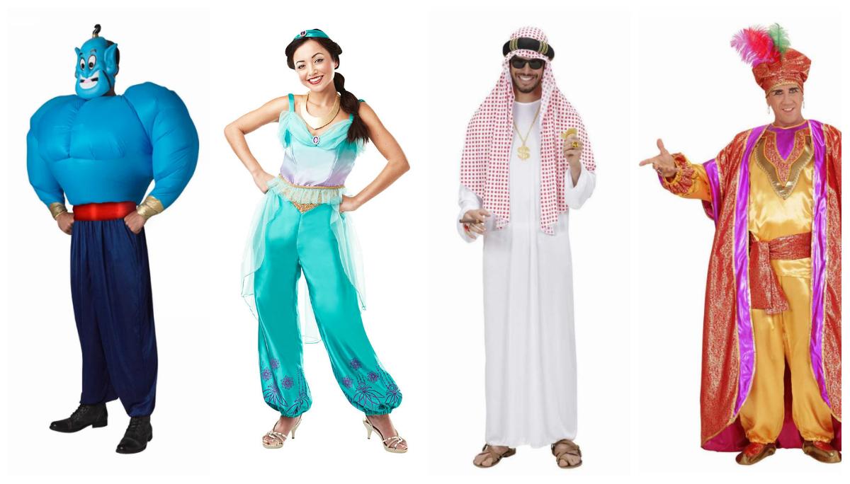 1001 nat eventyr Arabiske kostumer til voksne