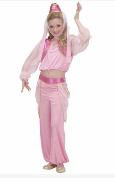 arabiske kostume til børn mavedansker kostume til børn danserinde børne kostume 1001 nat eventyr kostume