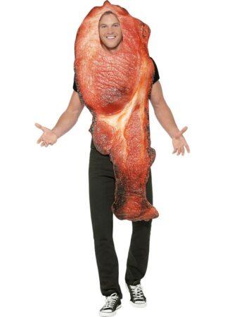 bacon kostumee til voksne mad udklædning lige til at spise kostume