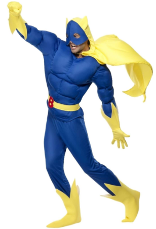 banan man kostume bananaman kostume banan kostume