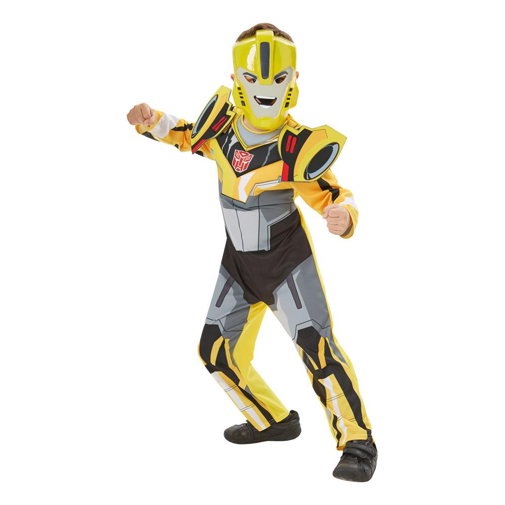 bumblebee fastelavnskostume transformers bumblebee børnekostume udklædning til transformers fans fastelavn 2019
