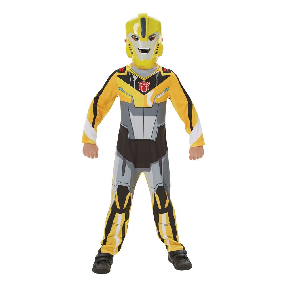 bumblebee kostume til fastelavn klassisk bumble bee børnekostume til drenge fastelavnskostume 2019 transformers kostume til børn