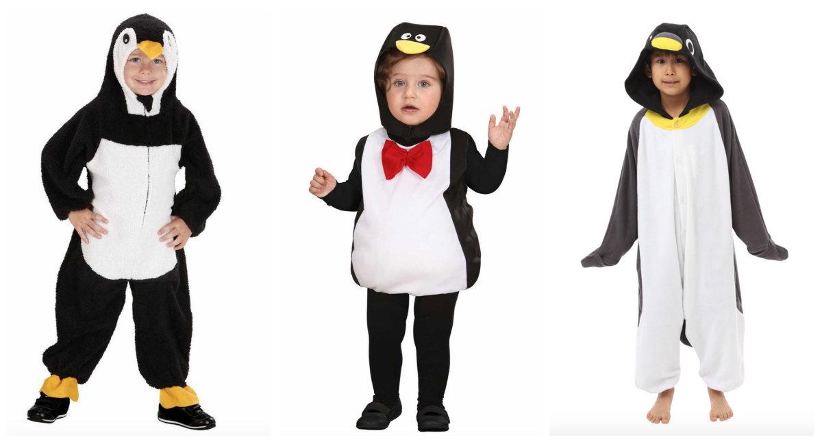 a6ce9a591d2 Pingvin kostume til børn, pingvin kostume til baby, pingvin udklædning til  børn, pingvin
