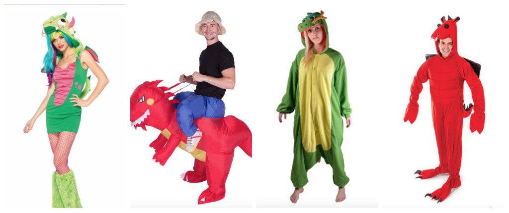 collage 3 1024x430 - Drage kostume til voksne