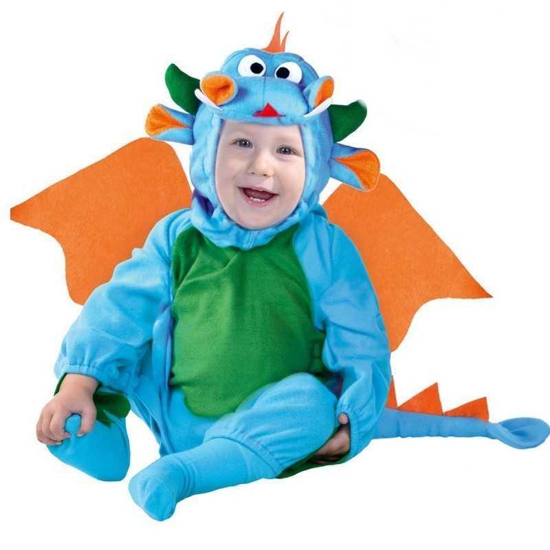 drage baby kostume - Drage kostume til børn og baby