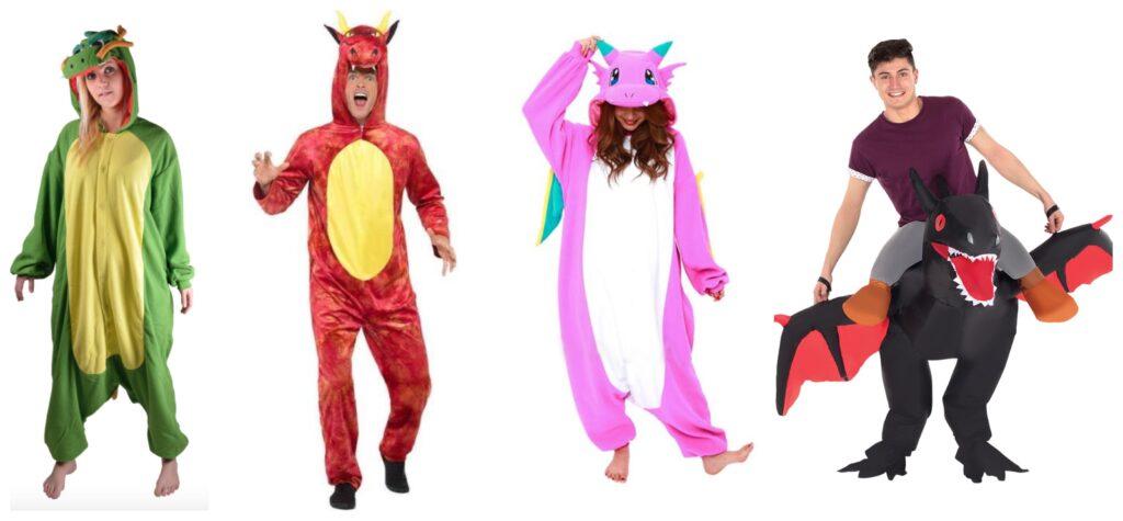drage voksenkostume 1024x475 - Drage kostume til voksne