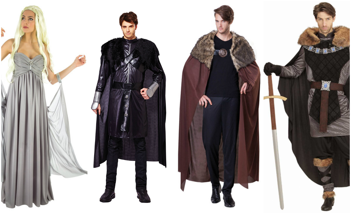 ridder kostume voksen