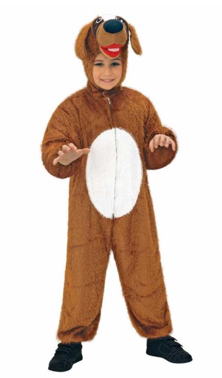 hundekostume til baby hund babykostume hund børnekostume hundekostume til børn brun hund kostume til børn