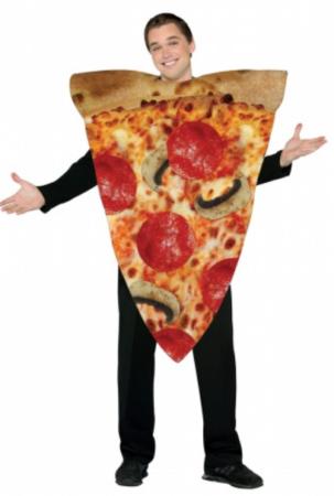 pizza kostume pizza slice udklædning til voksne