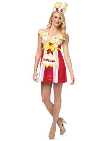 popcorn kostume cirkus kostume mad kostume snack kostume