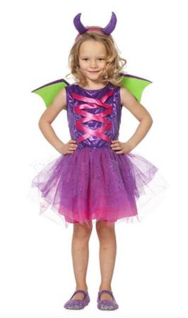 prinsesse drage kostume  266x450 - Drage kostume til børn og baby